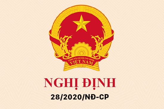 chinh sach tien luong moi theo nghi dinh 28 2020